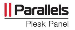 panel de control - Plesk
